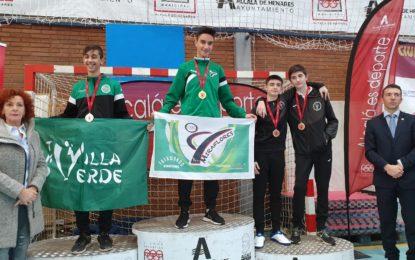 Enrique Herrero, oro en el Campeonato Regional Junior Taekwondo de Madrid