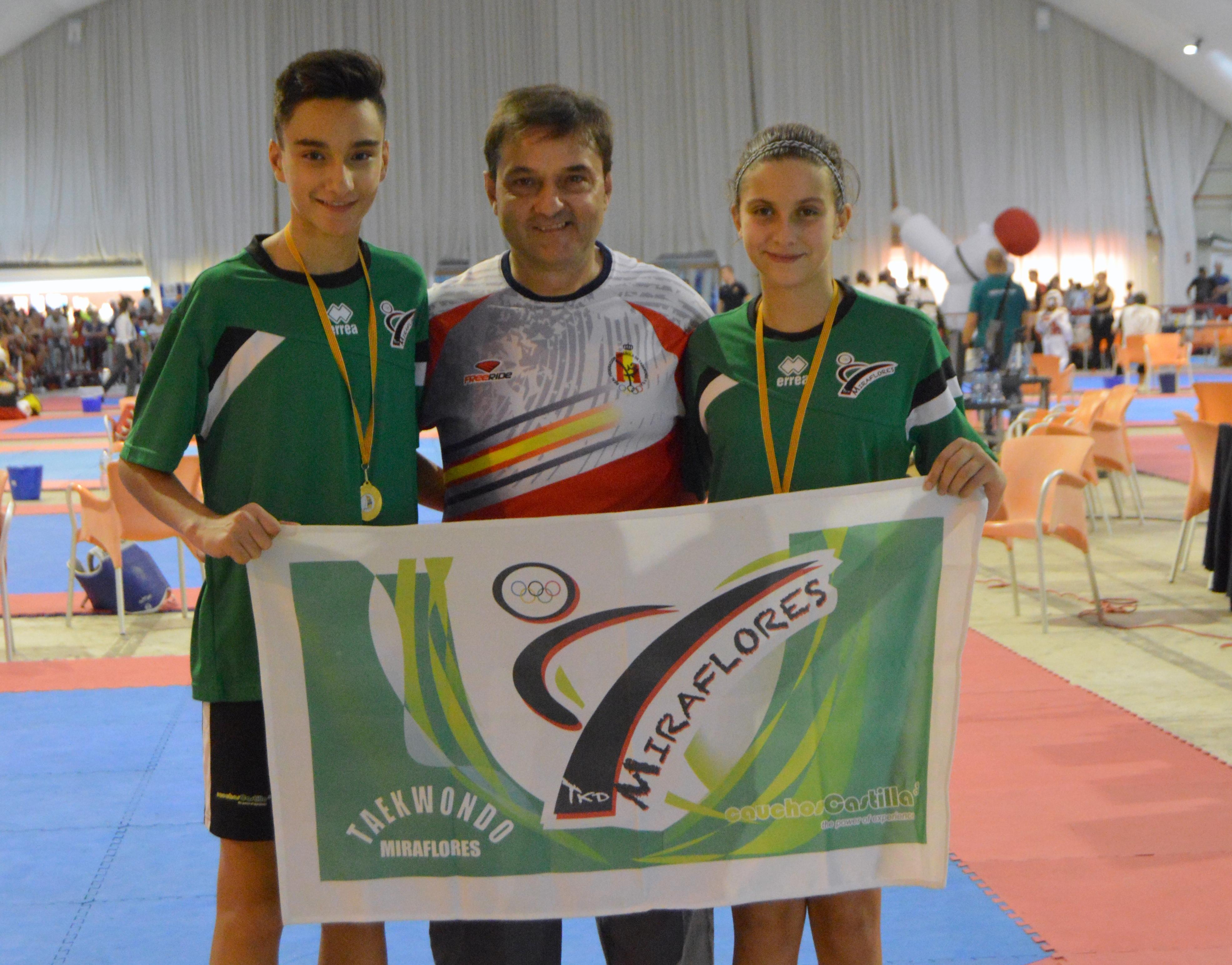 """Oro y plata para el Club de Taekwondo """"Miraflores-Bekdoosan"""""""