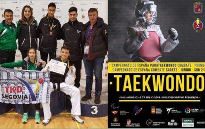 Participación del  Club de Taekwondo Miraflores-Bekdoosan en el Campeonato de España de Taekwondo