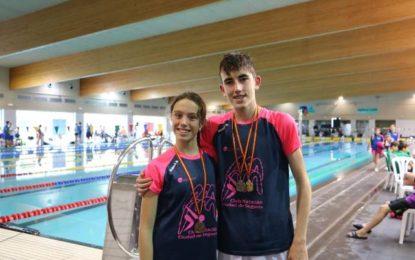 Iván Álvarez Vela con 4 medallas y Carlota Cecilia García con 2 medallas brillan en el V Open de Castilla y León Alevín de verano en Valladolid