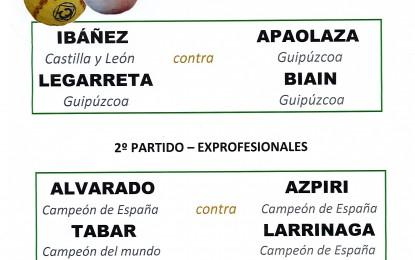 Partidos de Pelota a Mano en el Frontón Municipal de Samboal