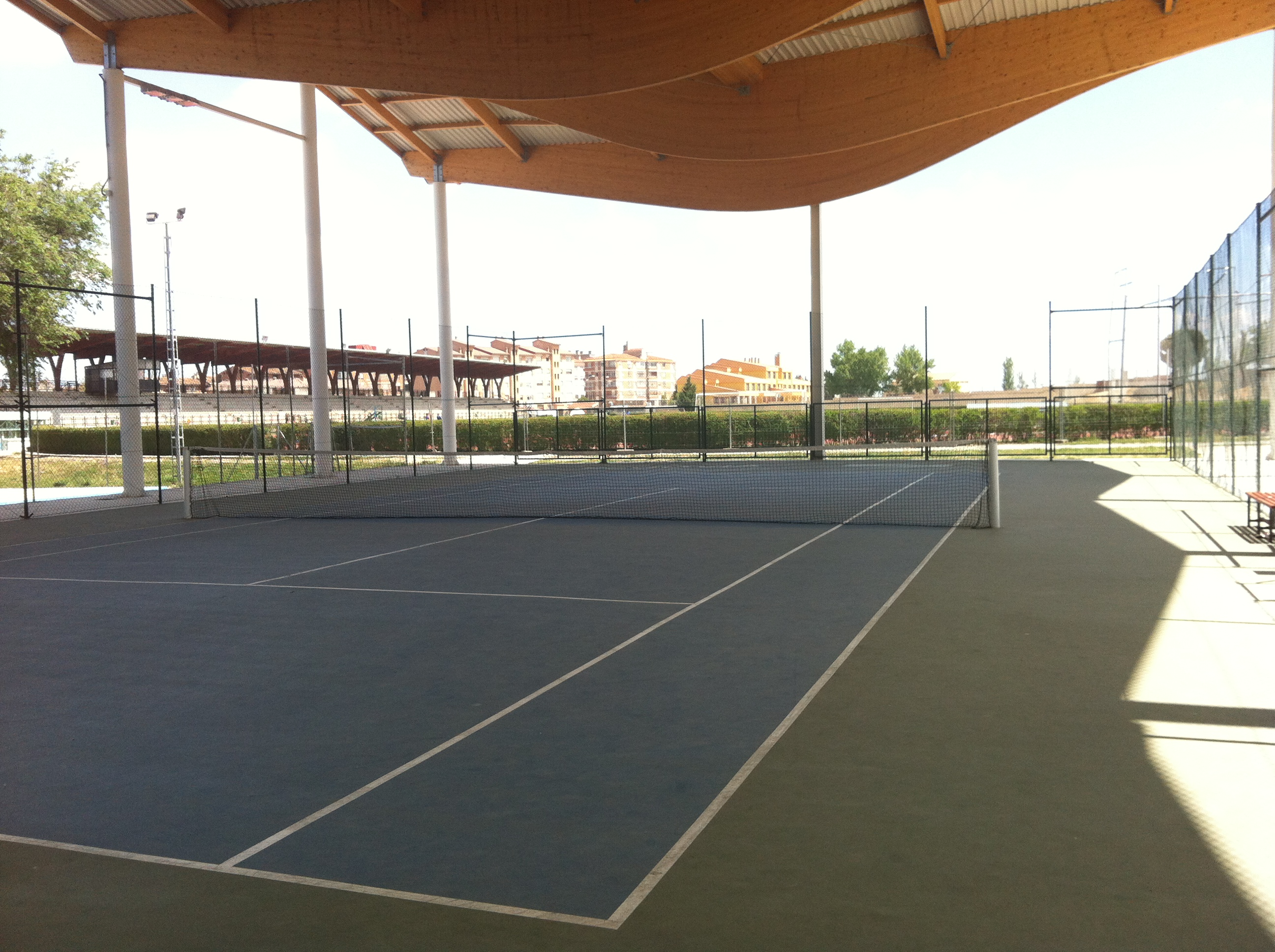 Tenis Escolar:  Horarios Finales Local Segovia Capital