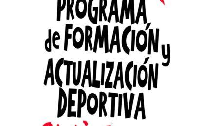 Programa de Formación y Actualización Deportiva 2020