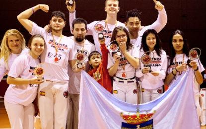 Capoeristas segovianos conquistan el Campeonato Interprovincial de Capoeira 2019