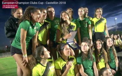 Águeda Muñoz Marqués Subcampeona de Europa en el Campeonato Copa de Clubes Europeo