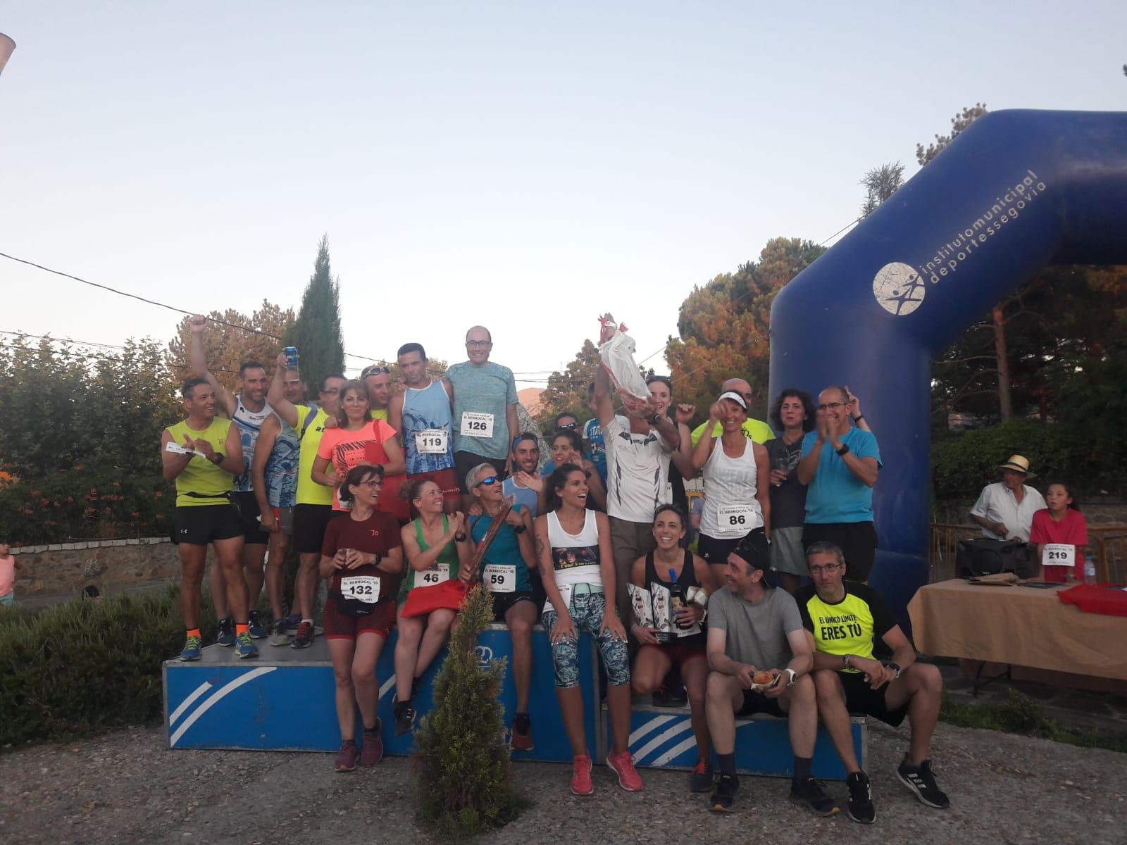 """Más de 200 atletas en la III Carrera """"El Berrocal"""" en Ortigosa del Monte"""