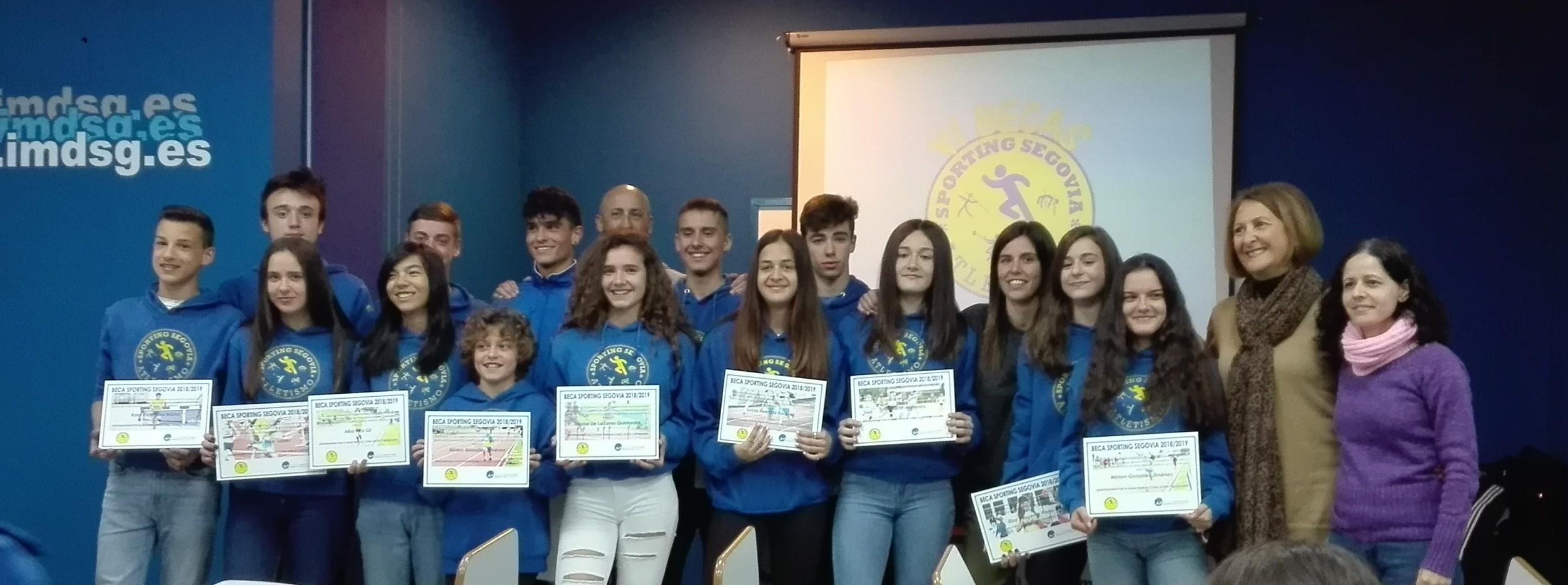 VI Becas  del Club Deportivo Sporting Segovia