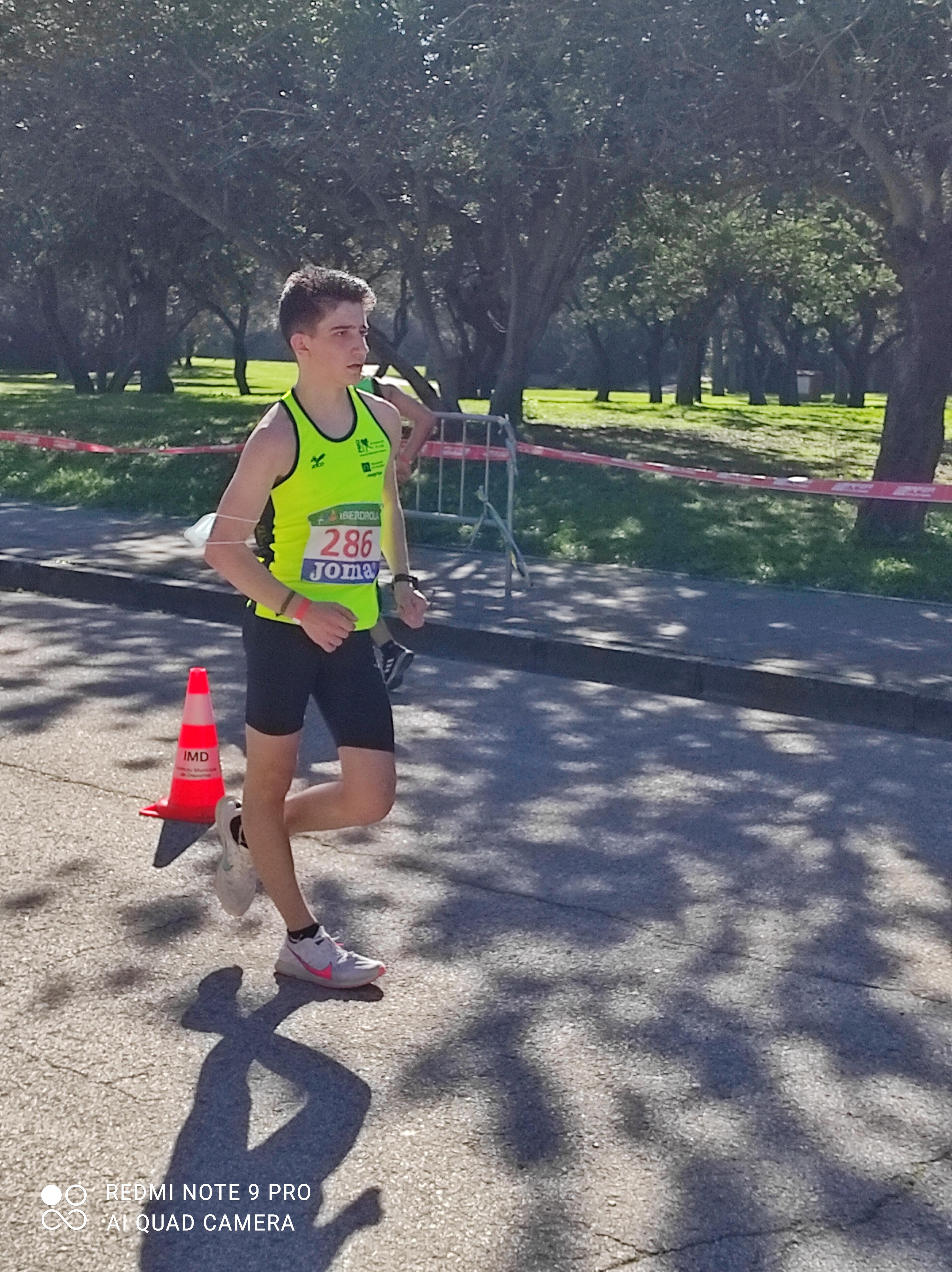 Representación segoviana en el Campeonato de España de Marcha en Ruta