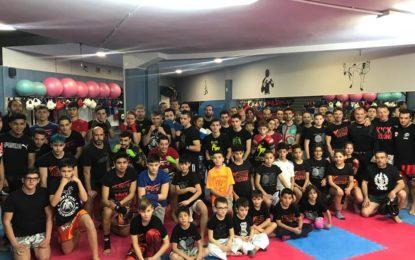 Clinic de Kickboxing en las instalaciones del Centro Victoria de Segovia
