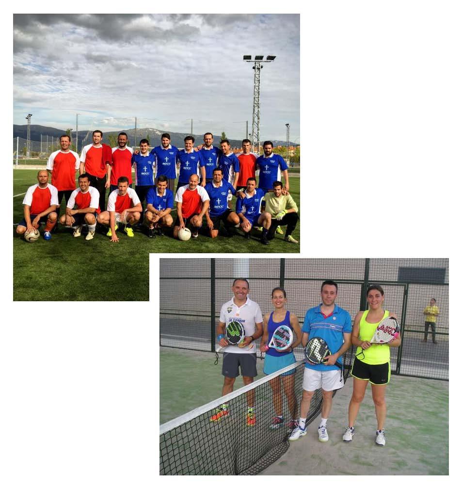 Actividades Deportivas con motivo de la Festividad de Santa Rita 2017
