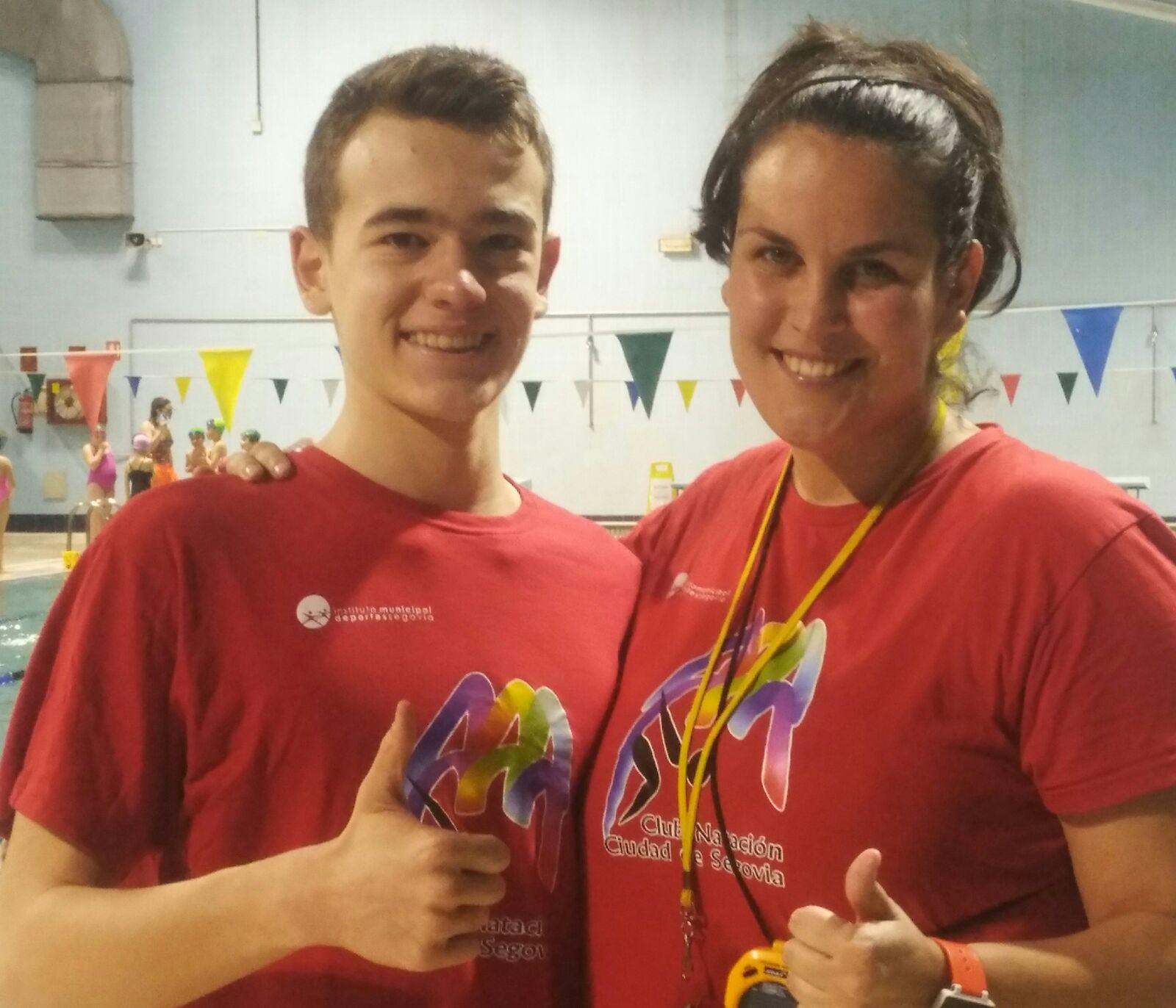 El nadador segoviano, Segismundo Álvarez, convocado por la selección de Castilla y León