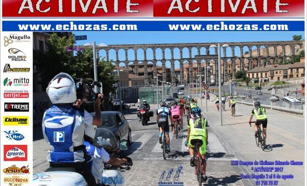 """XXII Campus de Ciclismo Eduardo Chozas """"Actívate"""" Venta Magullo 2017"""