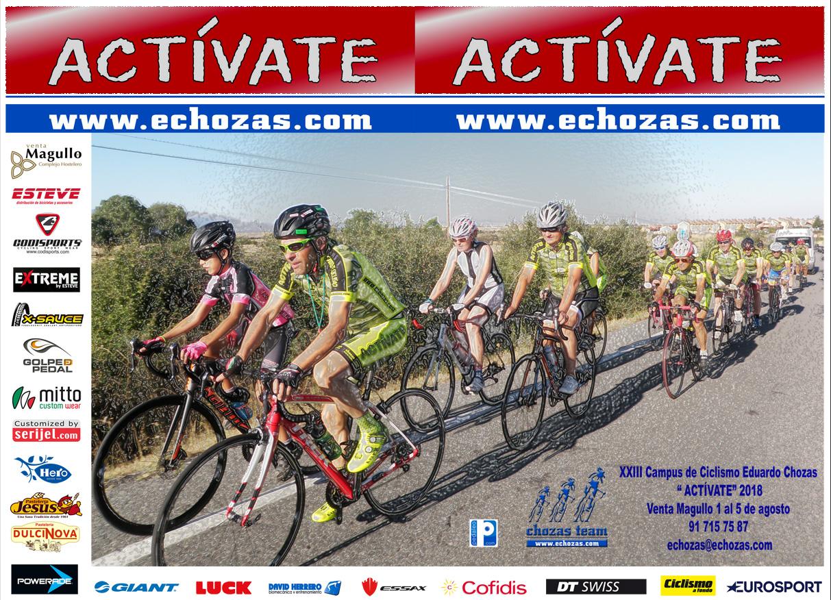 """Campus de Ciclismo """"Actívate"""" Eduardo Chozas"""
