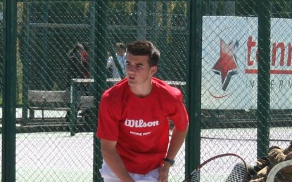 Saúl Verdugo da sus primeros pasos en el Tenis Profesional