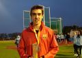 Antonio Tabanera Manzanares Subcampeón de España en 110 metros vallas