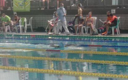 La nadadora segoviana, Sofía García Gil, hizo un gran papel en el Campeonato de Castilla y León