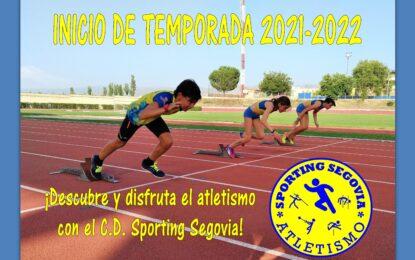 El Club de Atletismo Sporting Segovia inicia la temporada 2021-2022