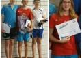El Club de Natación IMD-Segovia termina la Liga Territorial Infantil Femenina y Alevín Masculino con los primero clasificados