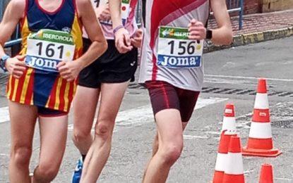 Rodrigo Santa Elena se clasifica en el 5º puesto en categoría sub 18 en el Campeonato de España de Marcha en Ruta