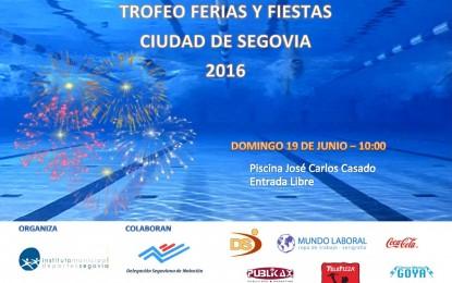 """Trofeo Ferias y Fiestas de Natación """"Ciudad de Segovia"""" 2016"""