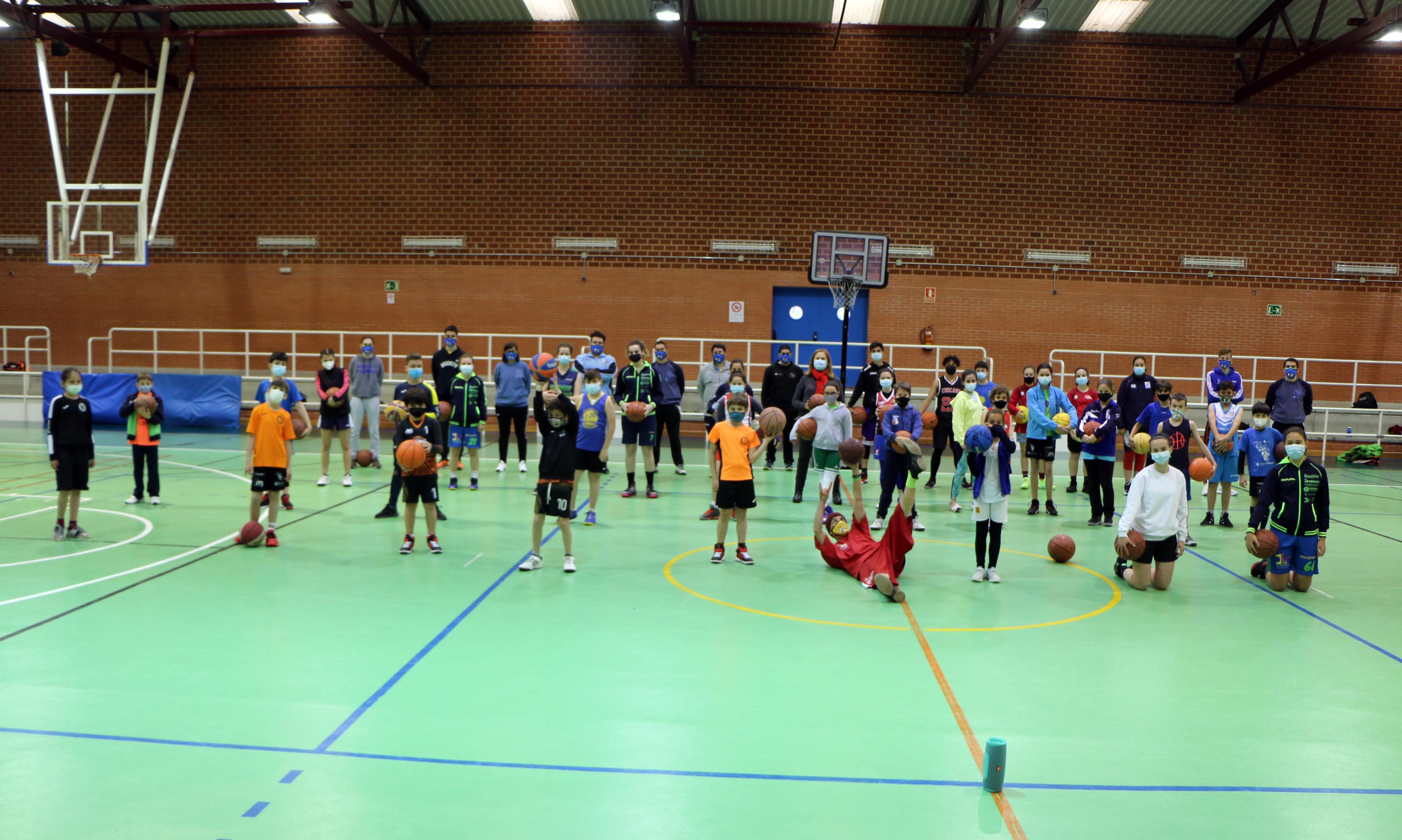 Abierto el plazo para completar las plazas del Centro de Tecnificación de Baloncesto IMD Segovia