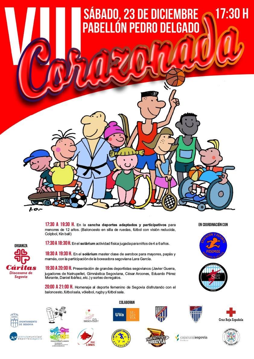 VIII Corazonada: Actividad Deportiva de carácter solidario