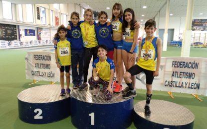 Los atletas del Sporting Segovia suman cinco medallas Autonómicas más en Pista Cubierta