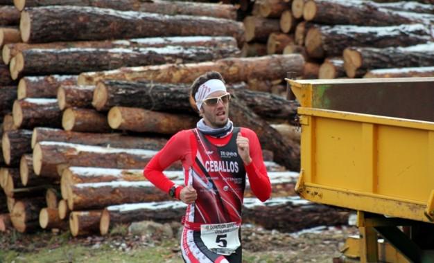 Victoria de Rubén Ceballos, del Triatlon Eresma, en el comienzo de la Temporada de Duatlón en Vinuesa