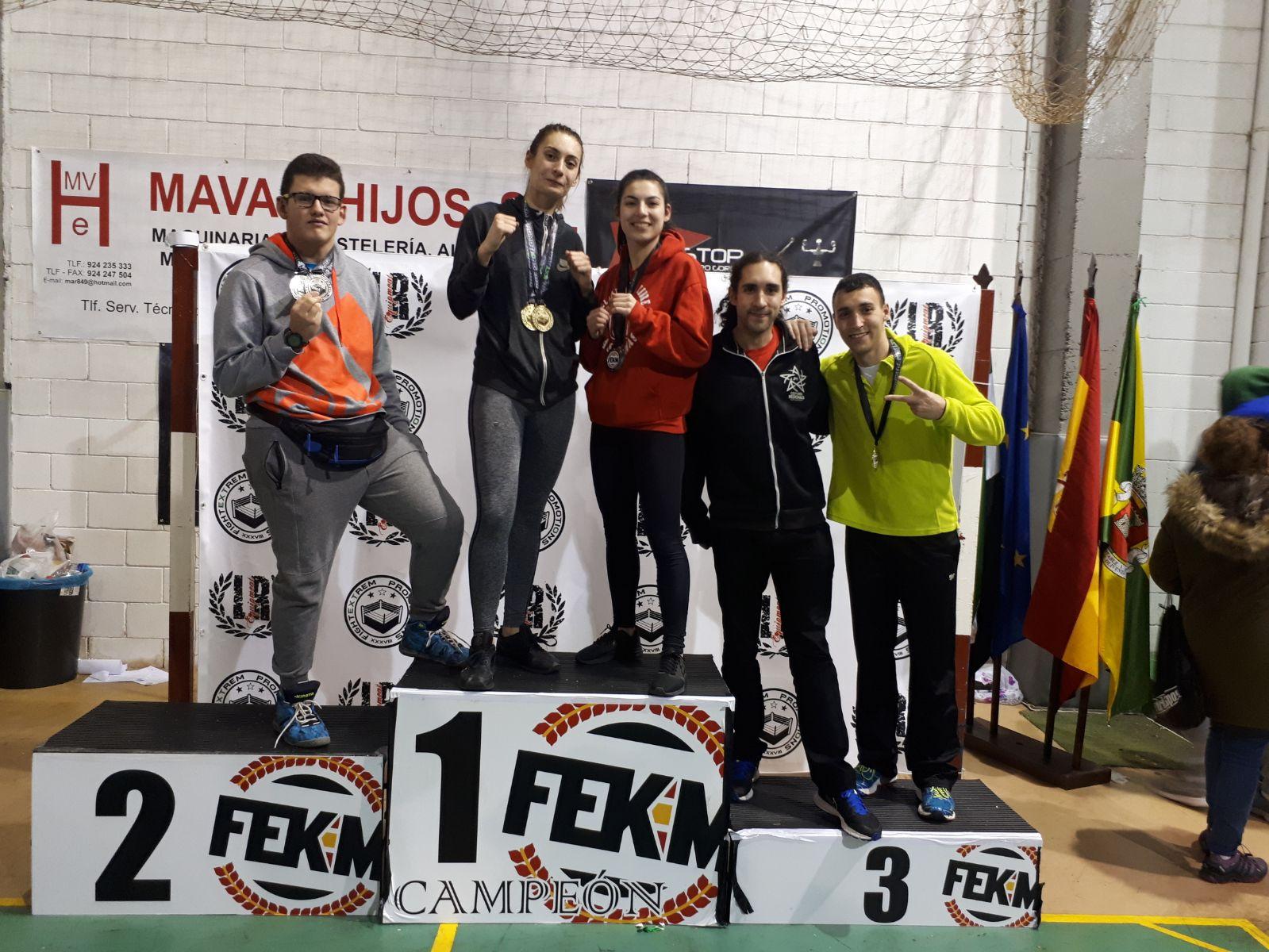 Crónica del Open de Extremadura 2018 de Kick Boxing