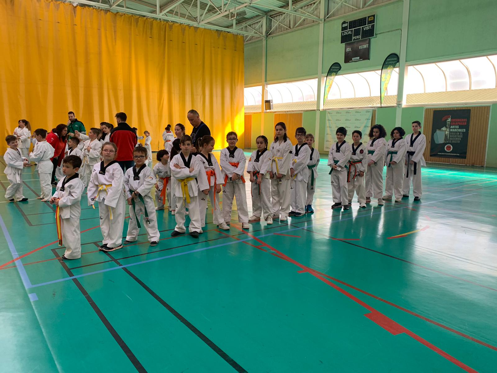 Veinte deportistas segovianos participan en el VI Open de Técnica de Taekwondo no competitivo de Galapagar