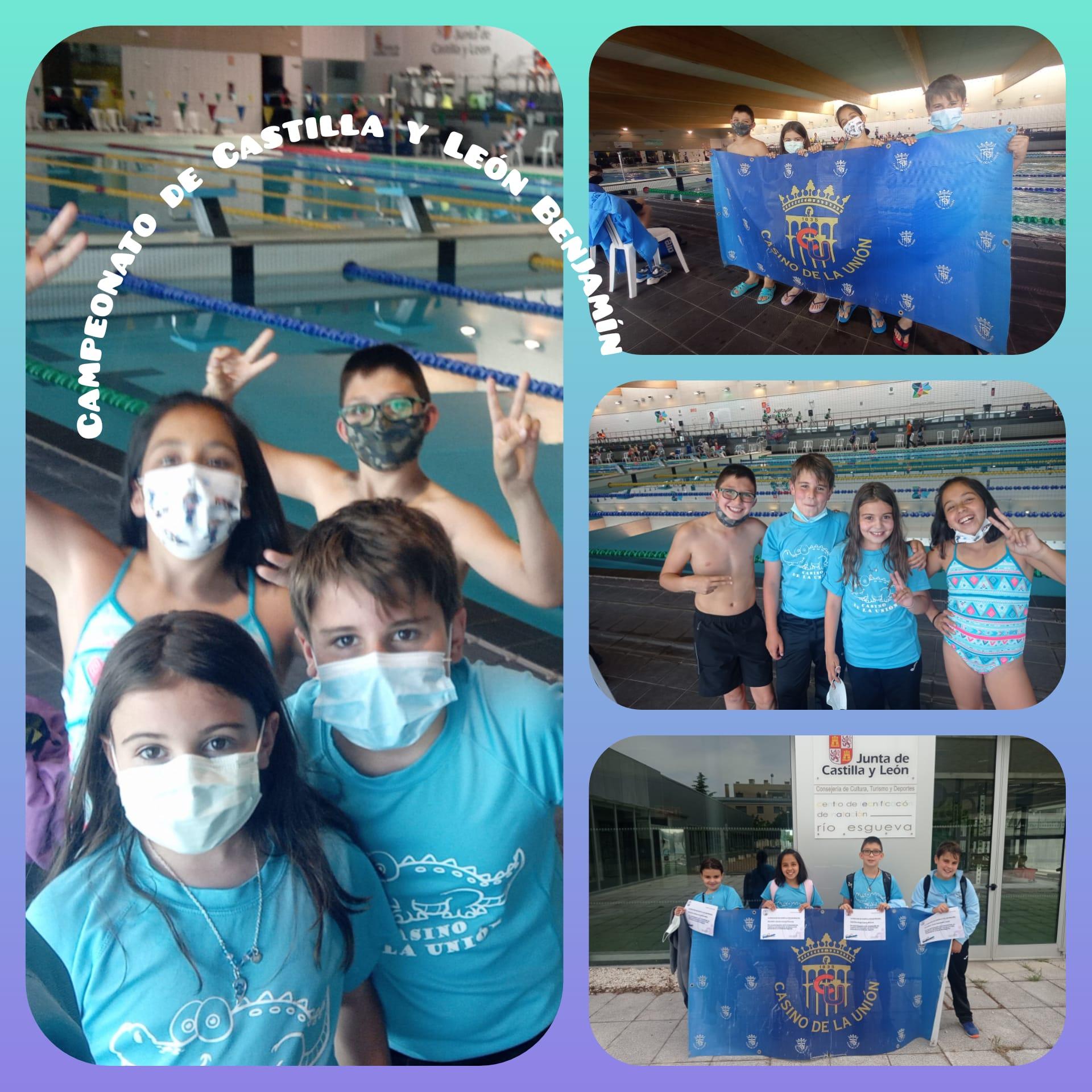 Gran actuación de los nadadores del Casino de la Unión en Valladolid