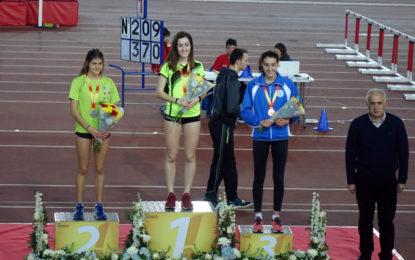 Águeda Muñoz Marqués subcampeona de España individual en 1500 ML en Pista Cubierta