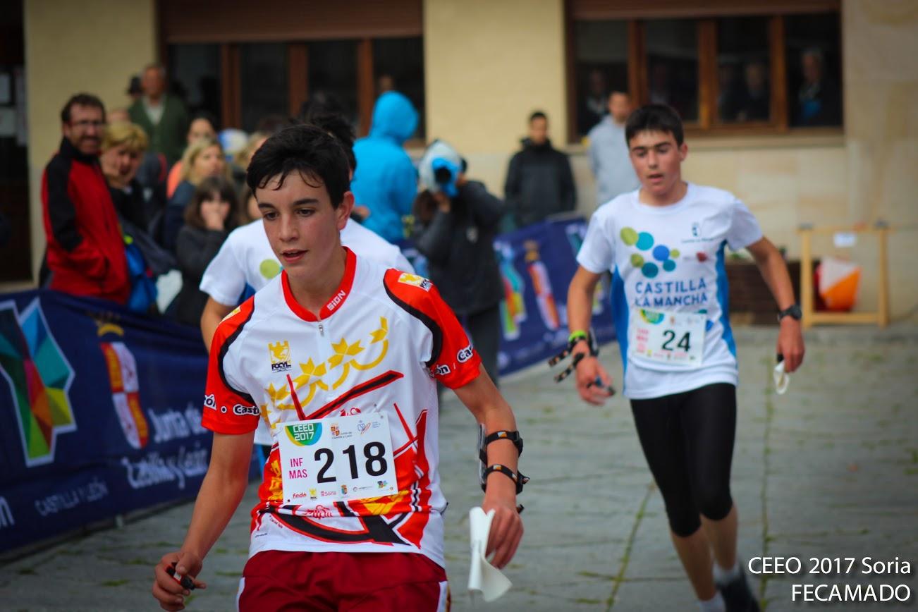 El segoviano, Adrián Rubio Alonso, participó en el Campeonato de España de Orientación Escolar