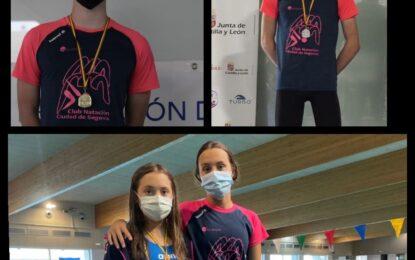 El Club Natación-IMD Segovia obtiene 5 medallas en los Campeonatos de  Castilla y León Infantil y Absoluto/Junior de verano