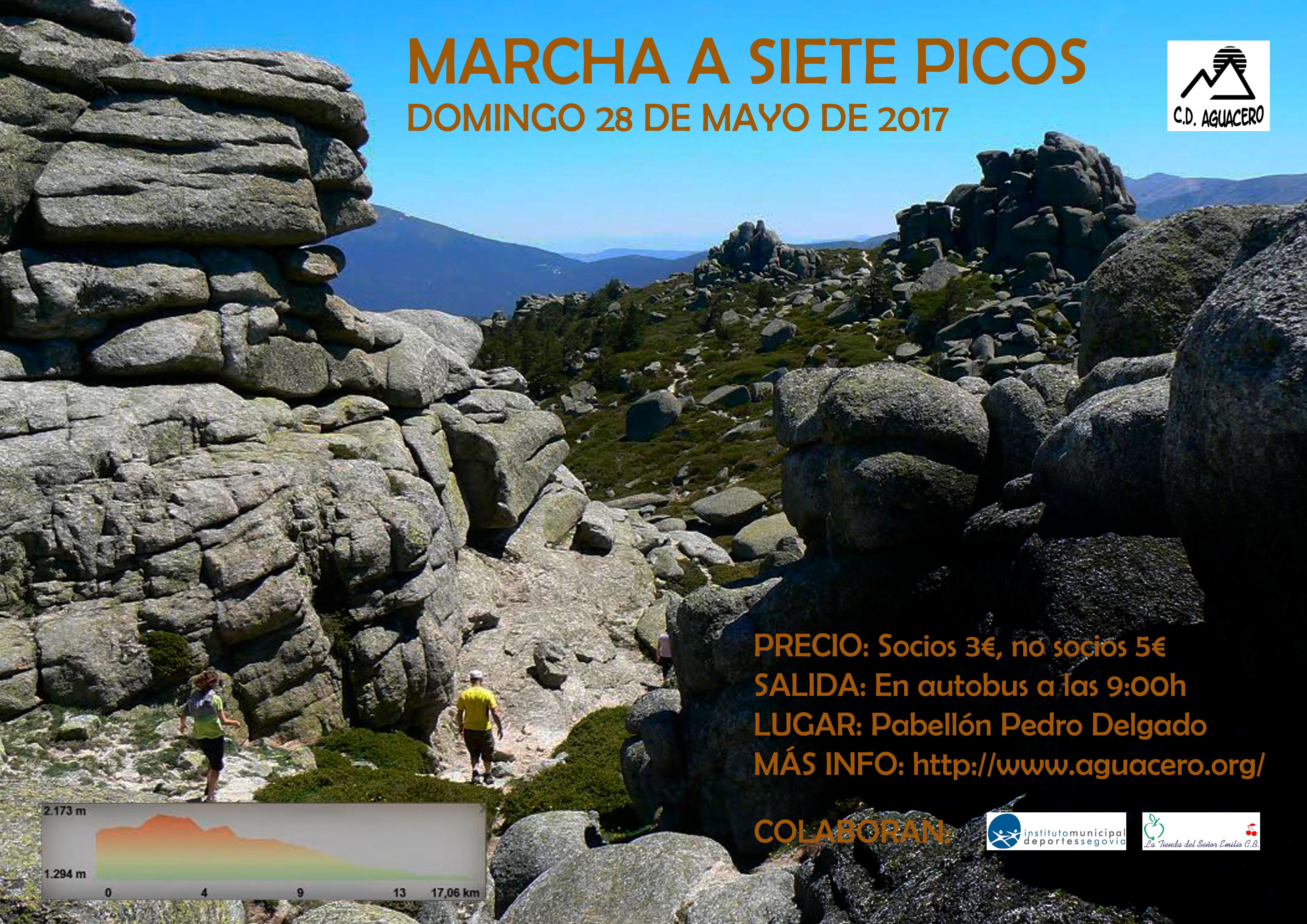 C.D. Aguacero: Marcha a Siete Picos