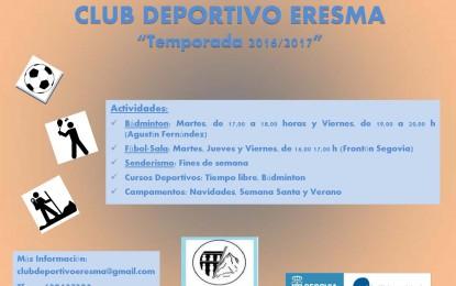 Comienza la Temporada 2016/2017 del C.D. Eresma