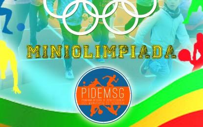 Hoy, 29 de Mayo, Miniolimpiada Final del Deporte Escolar