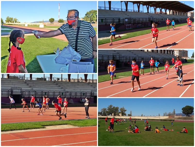 Comienzo de la Escuela de Atletismo del CAS-Ciudad de Segovia y Venta Magullo