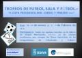 """El Instituto Municipal de Deportes organiza el """"II Trofeo Presidenta IMD"""" de Fútbol-Sala y Fútbol-7"""