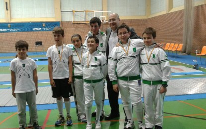 2 Oros, 2 Platas y 2 Bronces para el Club Esgrima Segovia