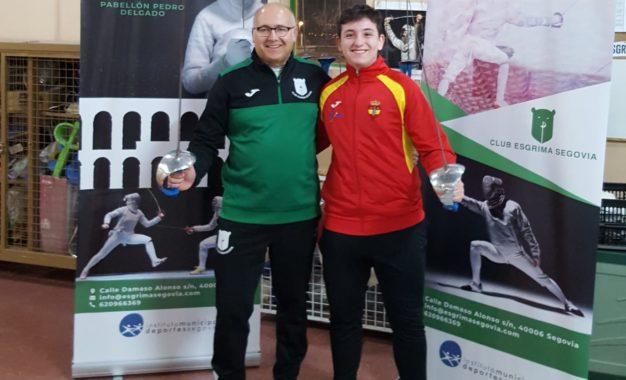Mario Aguado seleccionado para representar a España en el Campeonato de Europa de Sable Cadete
