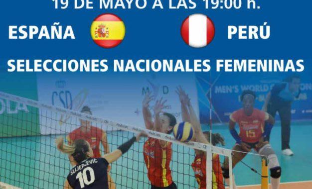 Voleibol: España-Perú, Selecciones Nacionales Femeninas