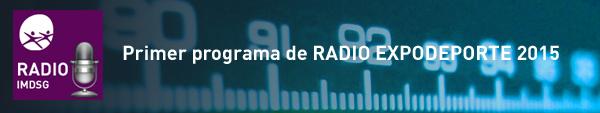 Primer programa de RADIO EXPODEPORTE
