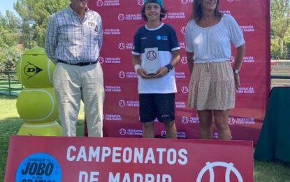 Un campeón segoviano en el tenis madrileño
