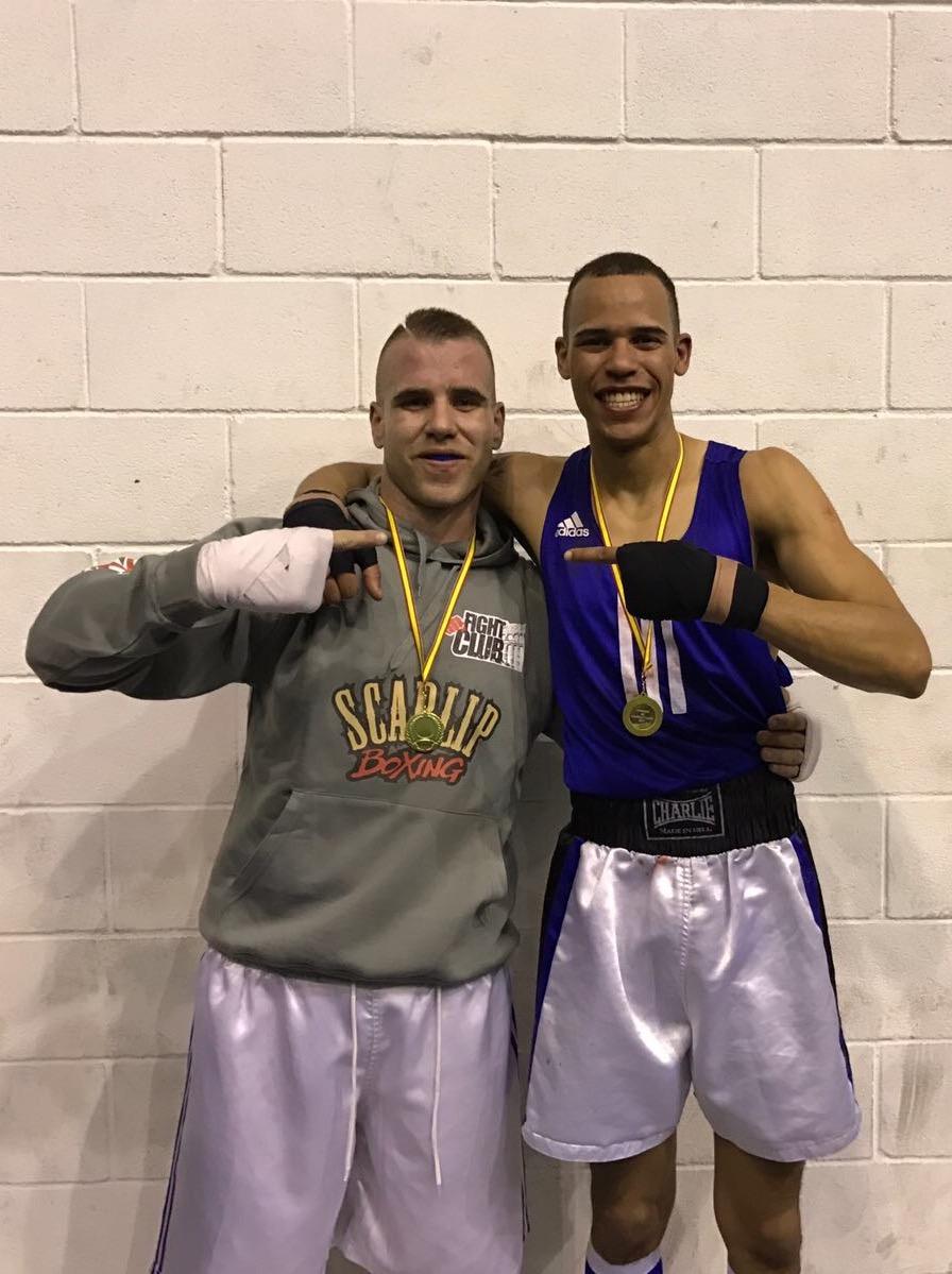 """Javier González """"Carolo"""" y Carlos Guzmán vuelven a reinar en sus respectivas categorías en los Campeonatos de Boxeo de Castilla y León"""