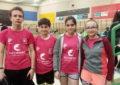 El CD Innoporc Eresma de Badmintón participa en la IV Prueba del Campeonato de Edad de Castilla y León