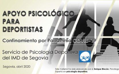 El IMD presenta su propuesta de apoyo psicológico a deportistas