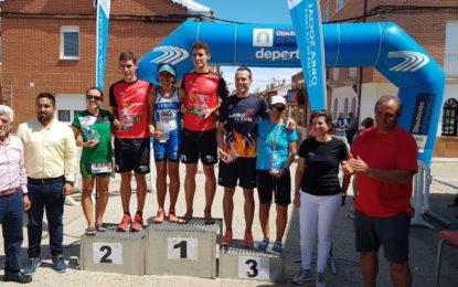Marta Martín, del CD Triatlón IMD Segovia, bronce en el Campeonato de Castilla y León de Triatlón Olímpico