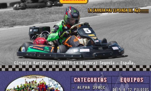 IV Edición de la Carrera Internacional de Resistencia de Karting 4T: 24 Horas Kartpetanas 2016