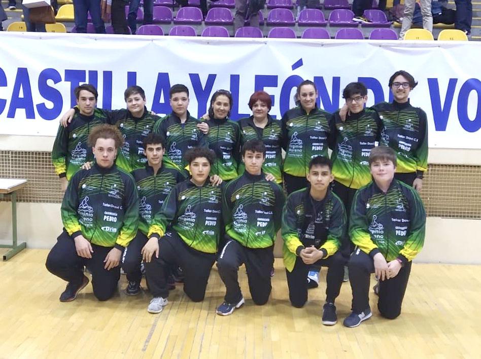 C.D. Segovoley: Tercer puesto en la Copa de Castilla y León de Voleibol